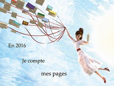 challenge en 2016 je compte mes pages