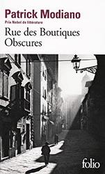 Rue des boutiques obscur - Patrick Modianoes