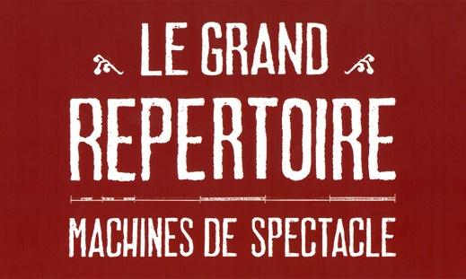 """Exposition """"Le grand répertoire : machines de spectacle"""""""